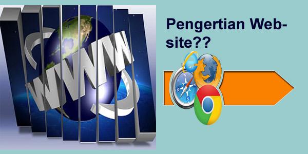 pengertian website