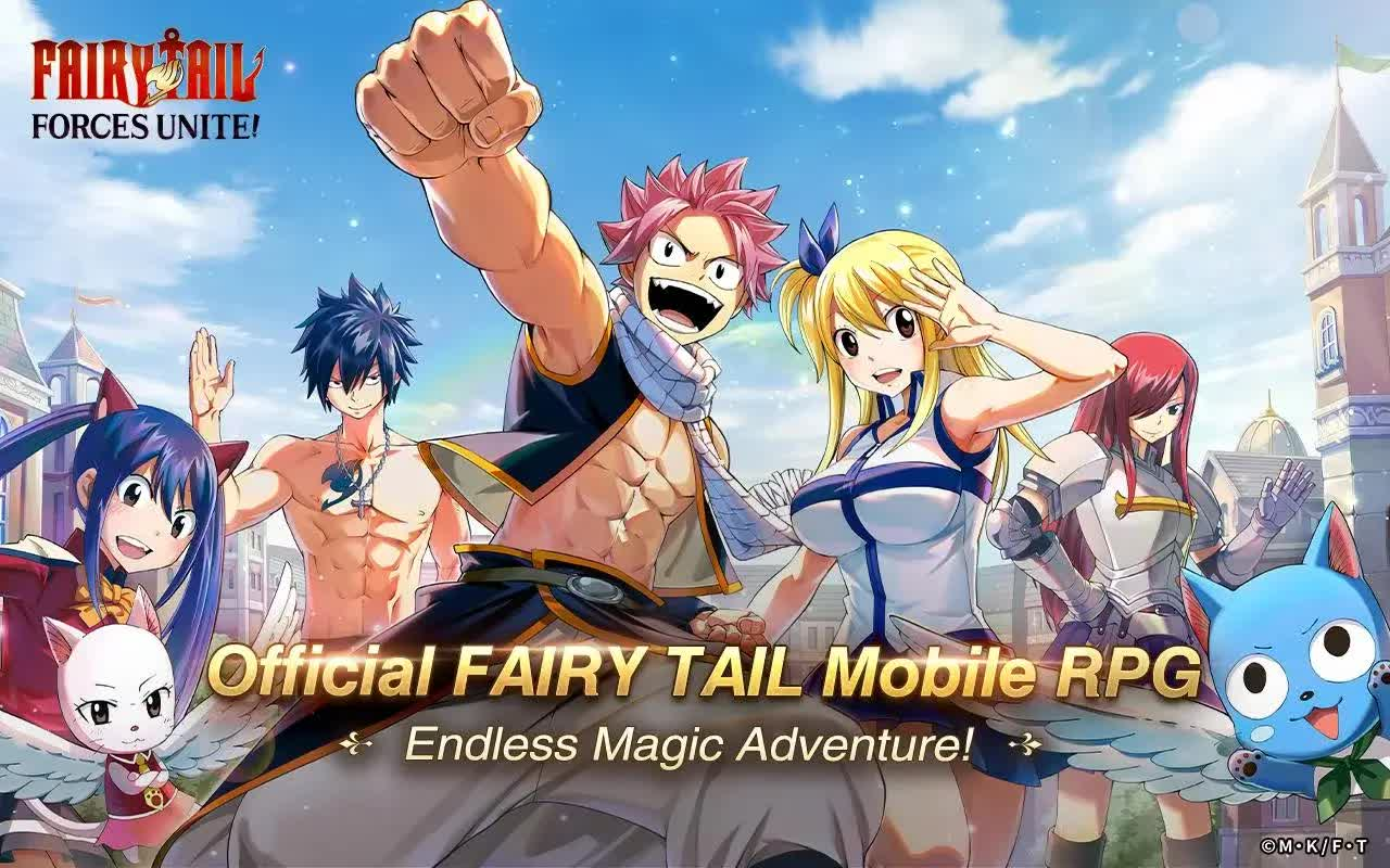 FAIRY TAIL Forces Unite! - SEA Server with English