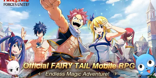 FAIRY TAIL Forces Unite! - SEA Server with English Translation Coming Soon