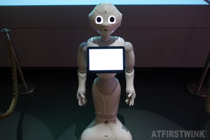 Museum Volkenkunde Leiden Netherlands Cool Japan exhibit robot pepper