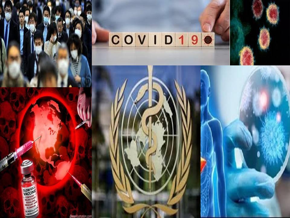 خديعة وارهاب كورونا الكبرى وتواطؤ منظمات عالميه .. كوفيد19 ليس فيروسًا..هل كورونا مخلق بخلطه بمكون من فيروس الايدز .