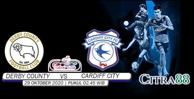 PREDIKSI DERBY COUNTY VS CARDIFF CITY 29 OKTOBER 2020