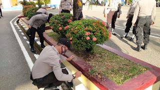Dalam Rangka HUT Bhayangkara Ke-74,Polres Pangkep Gelar Kurvey