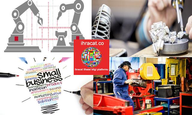 imalat sektöründe küçük işletmeler
