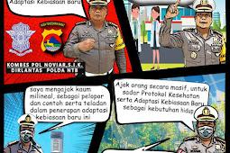 Menulis Jejak Kombespol Noviar Selama Menjadi Dirlantas Polda NTB