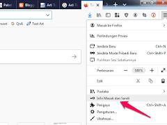 Cara Menyimpan Password di Mozilla Firefox secara Manual