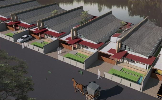 desain cluster housing