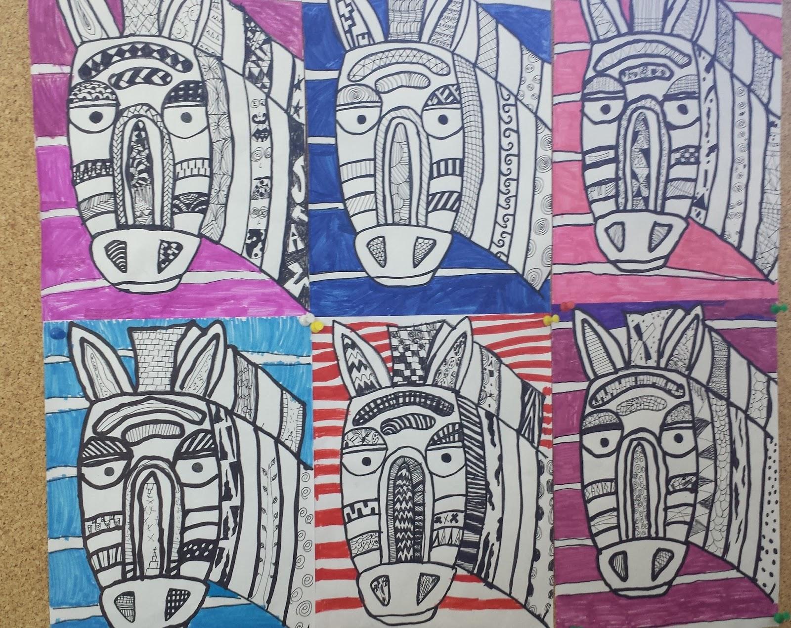 klasse(n)ideen: muster-zebras