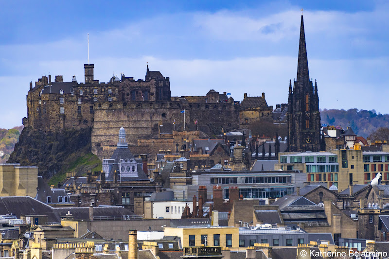 View of Edinburgh Castle Things to Do in Edinburgh in 3 Days Itinerary