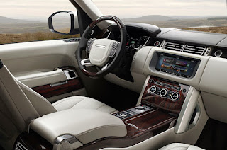 Range Rover Autobiography Interior: Multimedia and Entertainment