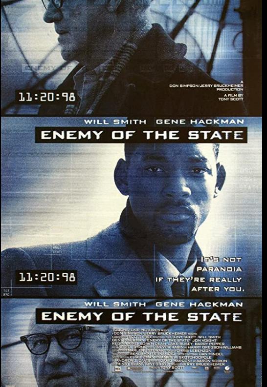 Enemy of the State 1998 x264 720p Esub BluRay Dual Audio English Hindi THE GOPI SAHI