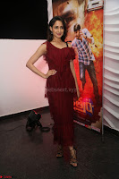 Pragya Jaiswal in Stunnign Deep neck Designer Maroon Dress at Nakshatram music launch ~ CelebesNext Celebrities Galleries 040.JPG