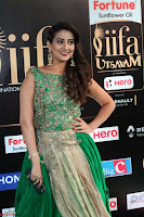 Manjusha in Beautiful Sleeveless Green Anarkali dress at IIFA Utsavam Awards 107.JPG