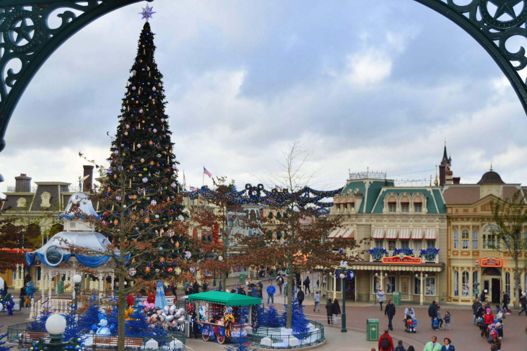Disneyland Paris at Christmas Time