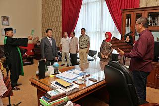 Walikota Payakumbuh: Lantik Direktur Utama RSUD Adnan