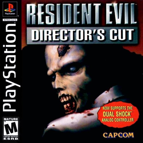 Resident Evil - Director's Cut - PSX - Portada