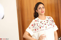 Lavanya Tripathi in Summer Style Spicy Short White Dress at her Interview  Exclusive 213.JPG