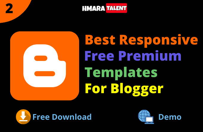 Best Responsive Free Templates For Blogger | Free Blogging Series | Hmaratalent