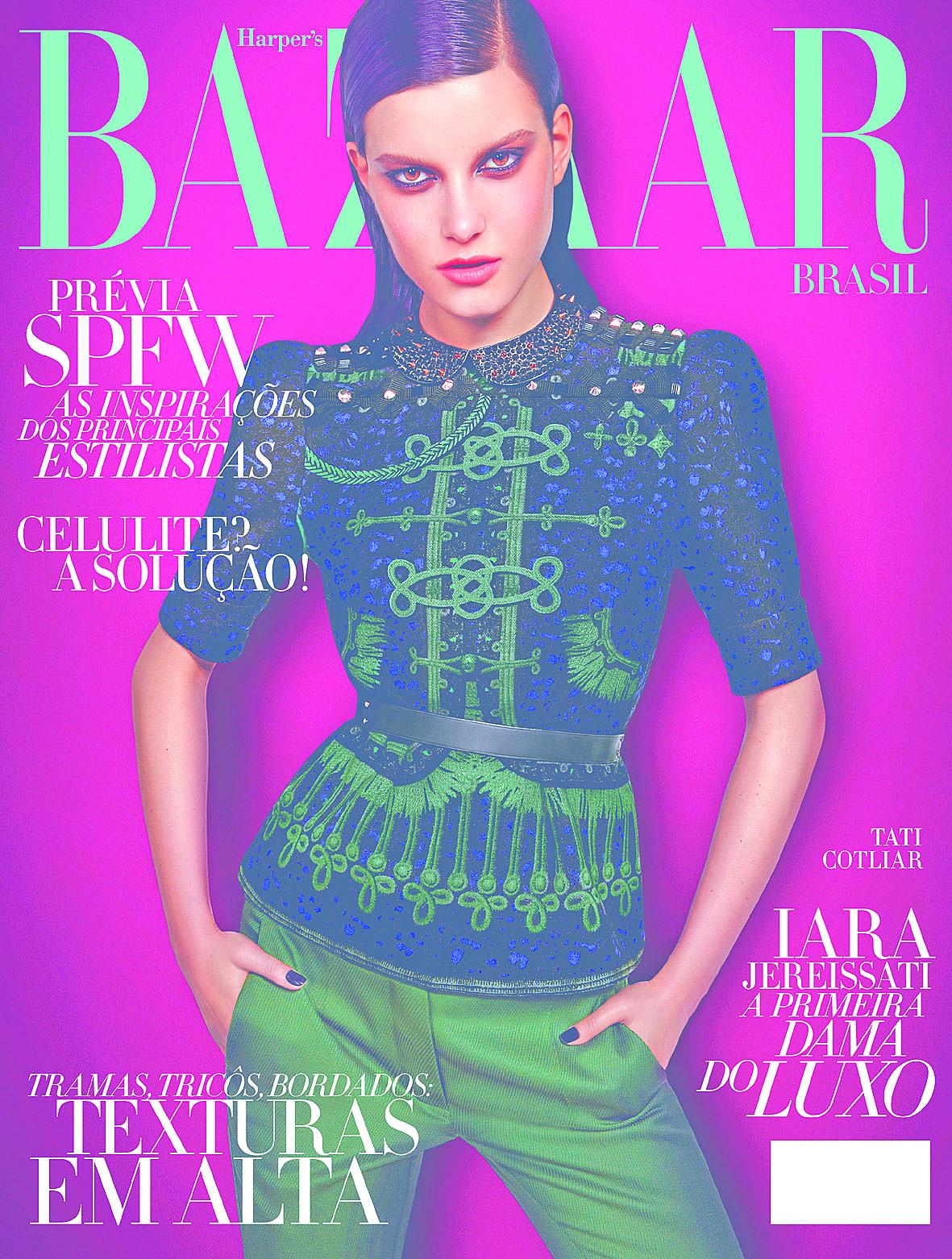63db65733 A 8ª edição da Harper s Bazaar Brasil traz um roteiro especial com os  melhores destinos para aproveitar as férias