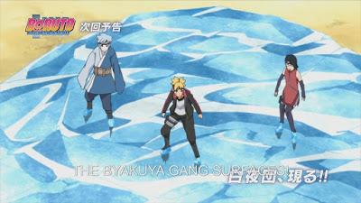 Ini akan menjadi episode yang cukup keren dimana kita melihat lebih banyak dari Shikadai dan bakatnya sebagai seorang jenius. Akankah kemampuan taktik Shikadai akhirnya di episode 43 ini?
