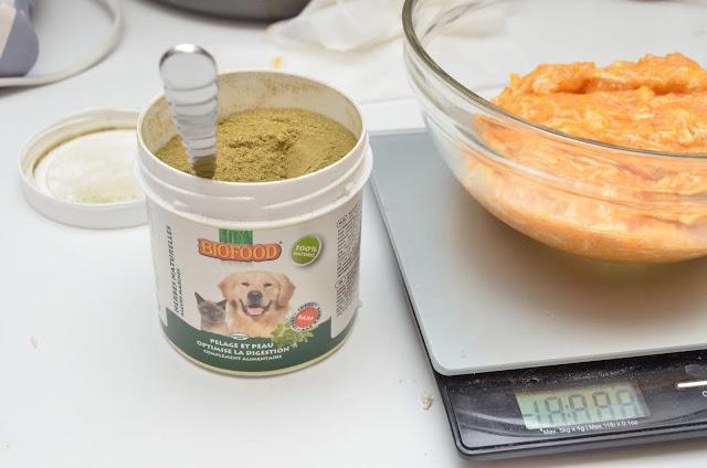 Test herbes Biofood pelage et peau