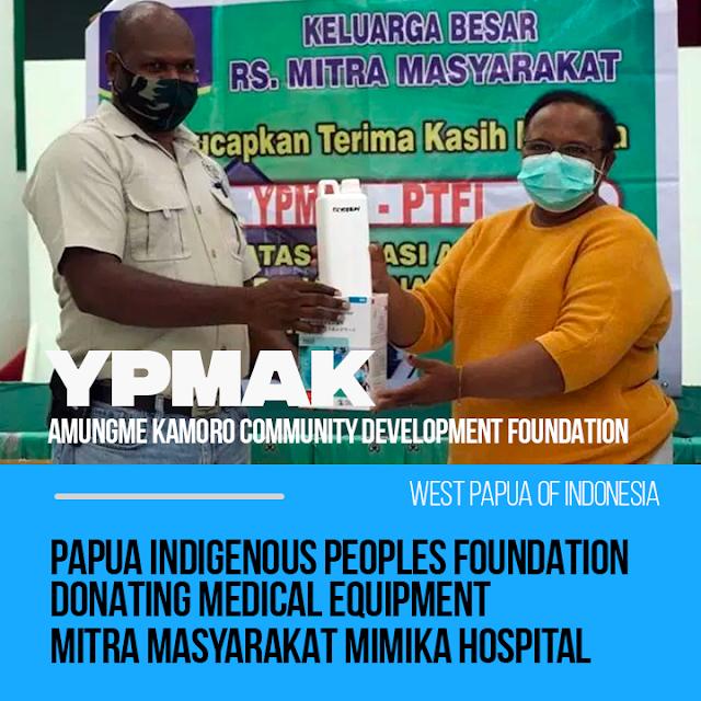 YPMAK Donates PPE Assistance to RSMM