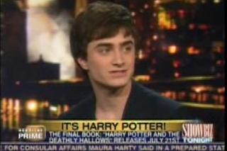 Daniel Radcliffe on CNN Showbiz Tonight