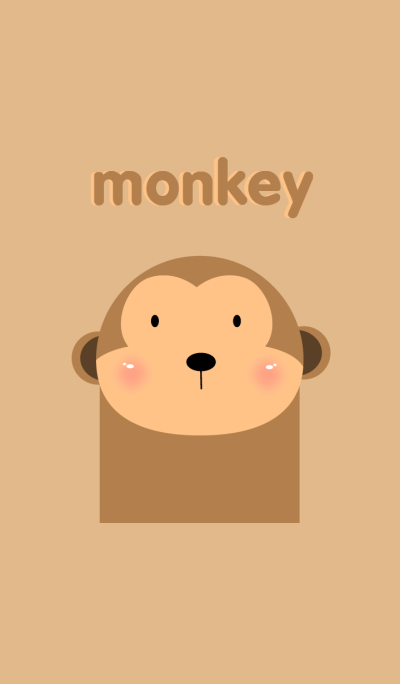 Simple monkey theme v.2