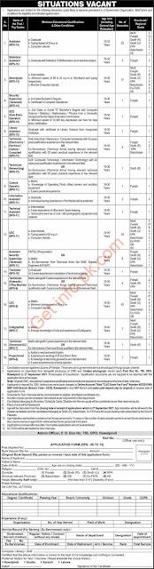 Latest Today Pakistan Army GHQ PO Box GPO 750 Rawalpindi Jobs 2021