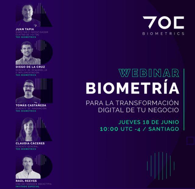 """Webinar """"Biometría para la transformación digital del negocio"""""""
