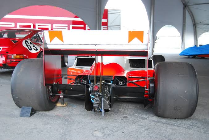Rear diffuser of a formula One 1 car, aerodynamics of formula cars