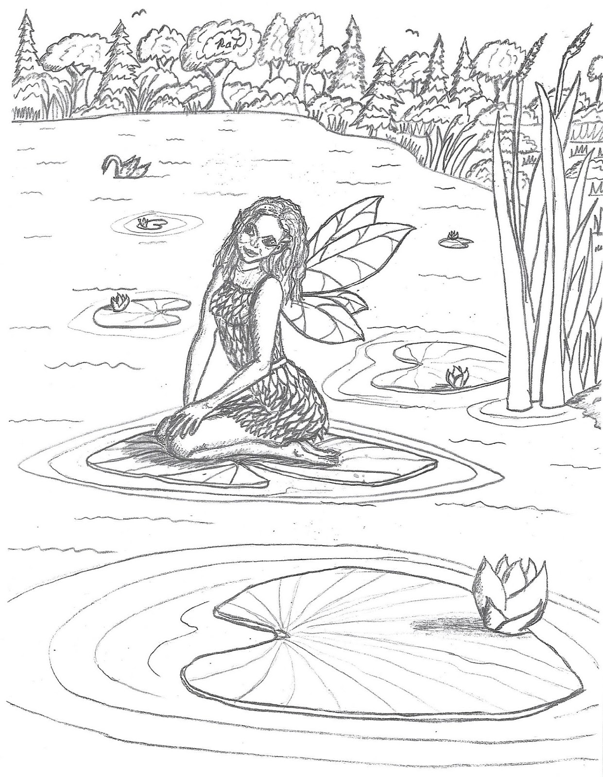 Robin S Great Coloring Pages Water Fairies Coloring Pages