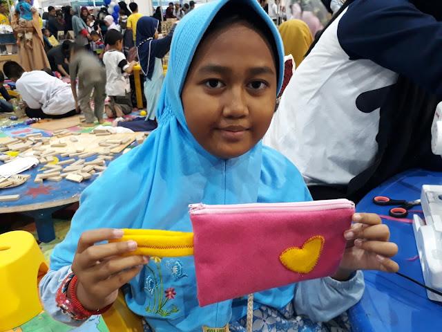 Belajar cara membuat kerajinan tangan kain flanel