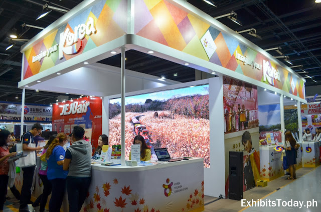 Korea Tourism Organization exhibit pavilion