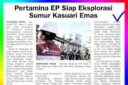 Pertamina EP Ready to Exploration Kasuari Emas Well