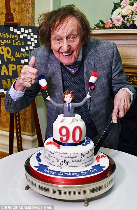 Comedian, Sir Ken Dodd dies, aged 90.