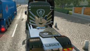 Scania Illegal T truck mod