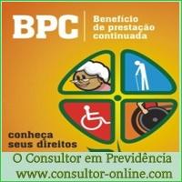 O direito ao BPC-LOAS dos idosos e das pessoas com deficiência.