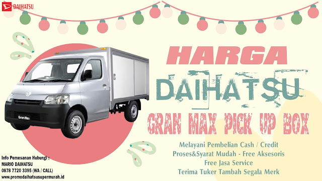 daihatsu gran max pick up box 2021