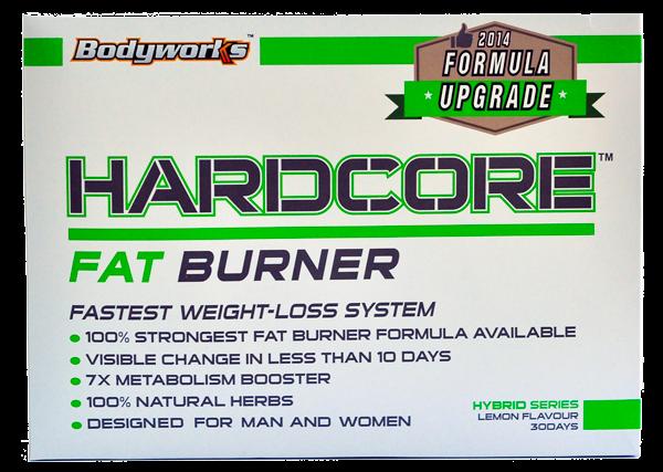 Hardcore Fat Burner Pembakar Lemak Secara Maksimum