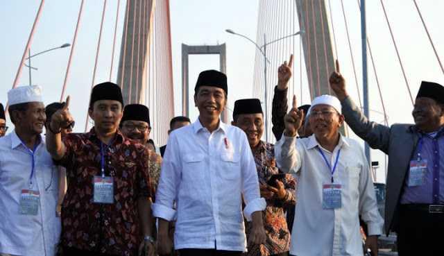 Gratiskan Jembatan Suramadu, Jokowi Dilaporkan ke Bawaslu