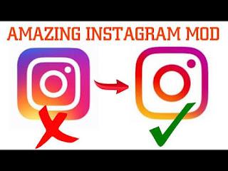 Download Instagram Mod Terbaru 2018
