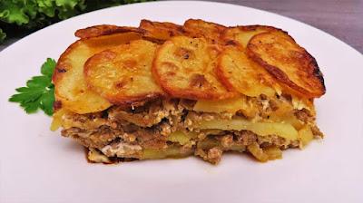 Musaka s Krumpirom | Moussaka with Potatoes