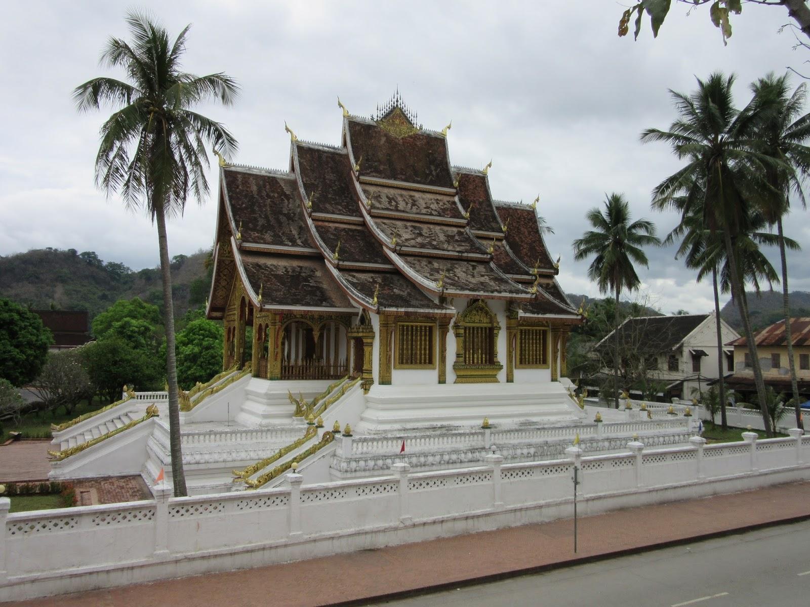 Templo en el centro histórico de Luang Prabang, Laos