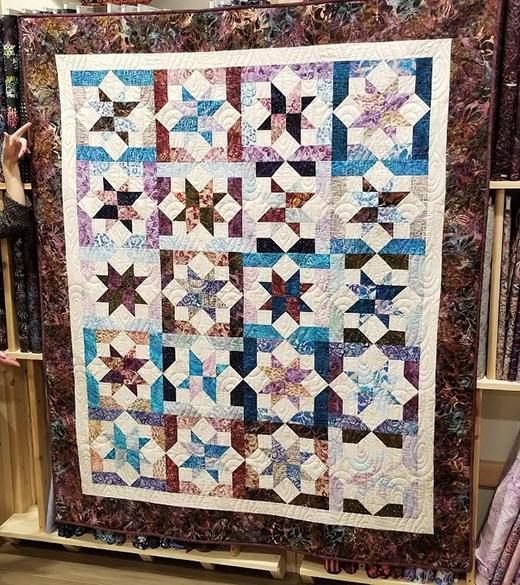 Fall Equinox Quilt Free Tutorial designed by Cozy Quilt Designs for Jordan Fabrics