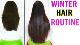 My WINTER Hair Care Routine | Long, Shiny & Healthy Hair