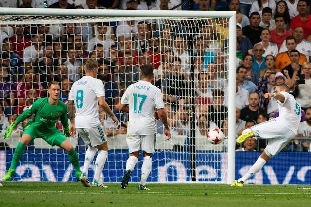 Real Madrid 2-0 Barcelona (5-1): Không phản kháng