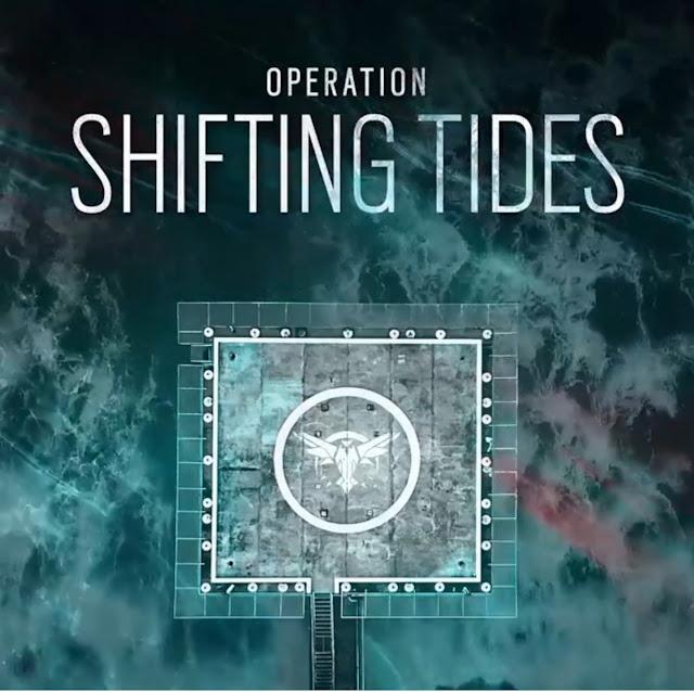 foi revelado nas redes sociais do Rainbow Six, o nome da nova operação que fechará o ano 4 de Rainbow Six Siege, a Operation Shifting Tides