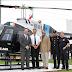 Presentó el Alcalde la nueva imagen del Helicóptero Municipal