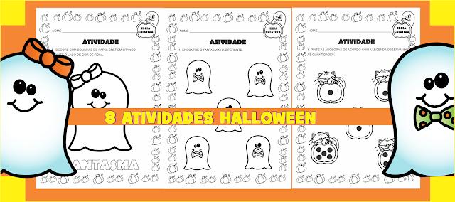 Coletânea Atividades Halloween para Educação Infantil